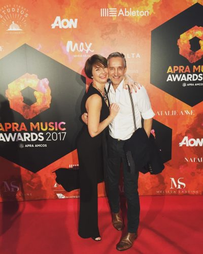 music studio owner Robert Award at the judging of APRA awards 2017.